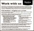 Work with us Santos GLNG is a pioneering venture that will produce natural gas from Queensland's coal seams and convert it into liquefied natural gas (LNG) for sale to world markets. Santos GLNG is led by Australian company Santos, in partnership with three of the world's leading energy ...