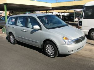 1012 Kia Grand Carnival VQ MY12 S Silver 5 Speed Automatic Wagon