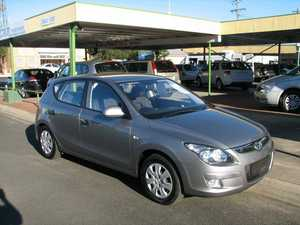 2011 Hyundai i30 FD MY11 SX Grey 6 Speed Automatic Hatchback