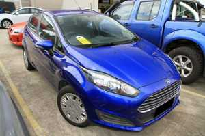 2013 Ford Fiesta automatic with just 39,334klms.  This one owner Fiesta looks brilliant in Blue, and is a lovely vehicle to drive. Our Fiesta comes with Cruise Control, Bluetooth phone with Voice Activation, a Full Service History and remainder of the Ford Factory Warranty!  We are a family owned ...