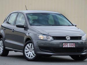 2013 Volkswagen Polo 6R MY14 Trendline DSG Grey 7 Speed Sports Automatic Dual Clutch Hatchback