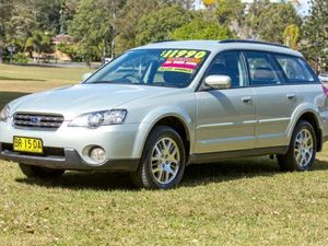 2005 Subaru Outback B4A MY05 AWD Gold 4 Speed Auto Seq Sportshift Wagon