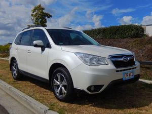 2014 Subaru Forester S4 MY14 White 6 Speed Constant Variable Wagon