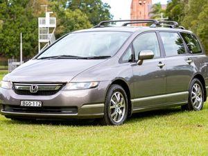 2007 Honda Odyssey 3rd Gen MY07 Luxury Bronze 5 Speed Auto Seq Sportshift Wagon