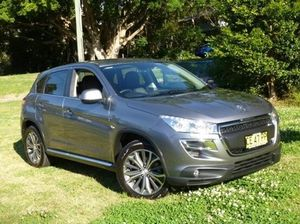 2012 Peugeot 4008 MY12 Allure 4WD Grey 6 Speed Constant Variable Wagon