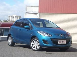 2011 Mazda 2 DE10Y1 MY10 Neo Aquatic Blue 5 Speed Manual Hatchback