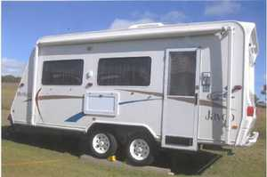 JAYCO HERITAGE 04   excell cond, new tyres & batt, lots storage, sngle beds, 3way fridge, oven, m/wave, a/c, LED TV, LED lights, water guage, show/toil, awn, rev cam, urgent sale $24,000 ono. Ph 0411559066