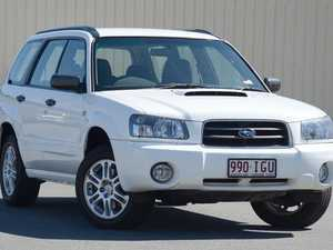 2004 Subaru Forester 79V MY05 XT AWD White 4 Speed Automatic Wagon