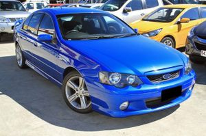 Ford XR6 sedan with just over 106,000klms.  This vehicle has been well cared for and looks brilliant in Blue with Tinted Windows and Factory Alloy Wheels.  Our XR6 comes with a Full Service History!  No Statutory Warranty  We are a family owned Award winning Multi-franchise Dealership which has been ...