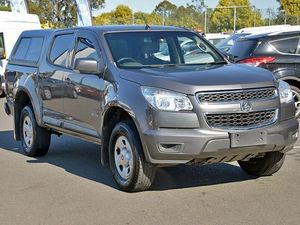 2009 Holden Colorado RC LX Grey 4 Speed Automatic Utility