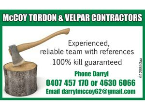 Experienced, reliable team with references