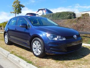 2014 Volkswagen Golf VII MY14 90TSI DSG Comfortline Blue 7 Speed Sports Automatic Dual Clutch Hatchb