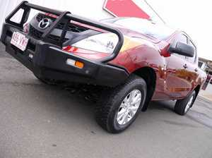 2012 Mazda BT-50 B32P XT Red 6 Speed Automatic Utility