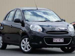 2011 Nissan Micra K13 TI Black 4 Speed Automatic Hatchback