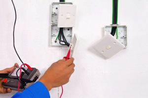 Small job specialist.  Safety switches, pool tariff.   Phone Barry Potter 0408883701. Lic 10705