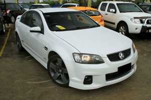 November 2012 built Holden SSZ Sedan with just 67,816klms since new!  This great automatic V8 sedan has been kept in good condition and is a great V8 to drive.  Our Sedan looks brilliant in White with Tinted Windows and Factory Z Wheels.  This sedan not only looks the part ...