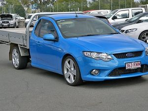 2011 Ford Falcon FG XR6 Turbo Blue 6 Speed Automatic Utility