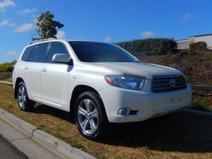 2008 Toyota Kluger GSU45R KX-S AWD White 5 Speed Auto Seq Sportshift Wagon