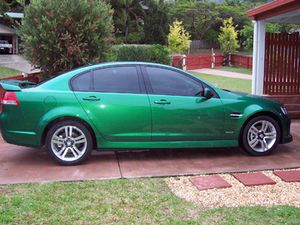 Holden Commodore SV6 sports sedan - 2010 model - 39000 kms.