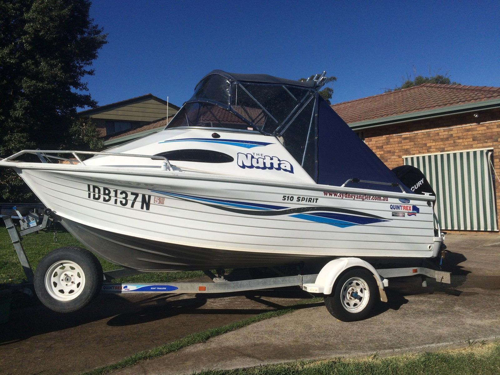 2008 Model Quintrex 510 Spirit
