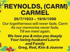 CARMEL REYNOLDS (Carm)