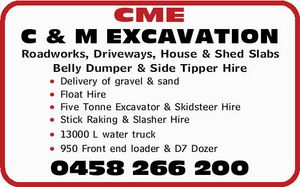 Roadworks, Driveways, House & Shed Slabs