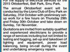 LIONS CLUB OF EMU PARK Expression of Interest