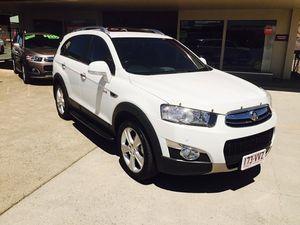 2012 Holden Captiva LX White 6 Speed Automatic Wagon