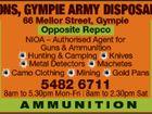 Gympie Army Disposal