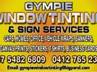 Gympie Window TInting & Sign Services