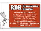 RDK SPRAYPAINTING SERVICES