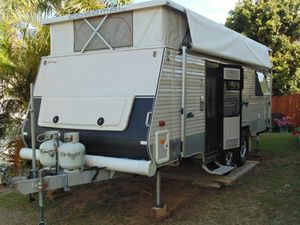 2012, 20' off road pop top, ind.