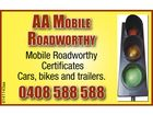 AA Mobile Roadworthy