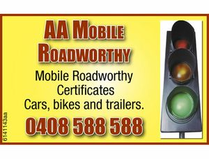 Mobile Roadworthy Certificates 