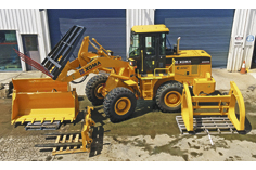 Hercules Wheel Loaders 4WD