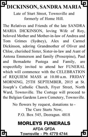 DICKINSON, SANDRA MARIA