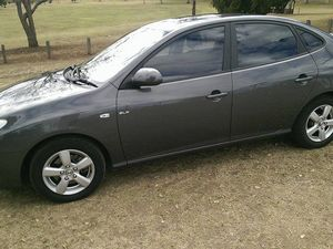 2007 Hyundai Elantra SLX Steel Grey 4 Speed Automatic Sedan