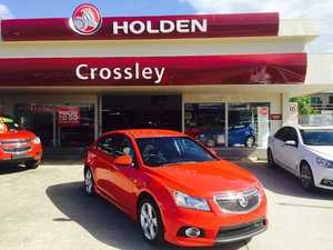2013 Holden Cruze  Red 6 Speed Automatic Hatchback