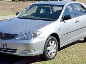 2004 Camry 2.4 L auto silver