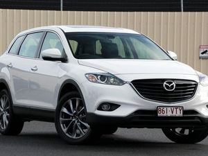 2015 Mazda CX-9 TB10A5 MY14 Luxury Activematic Crystal White Pearl 6 Speed Auto Seq Sportshift Wagon