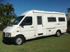 WINNEBAGO VW    Only 68,000 kms  gas/electric hot water  toilet/shower  fridge  solar  new batteries  new tyres  full length awning  tow bar  TV  registered to carry four people, excellent condition   $70,000 ono. Ph 0411 401 164