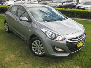2015 Hyundai i30 GD MY14 Active 1.6 CRDi Grey 6 Speed Automatic Hatchback