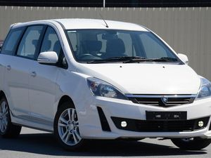2013 Proton Exora GXR White 6 Speed Constant Variable Wagon