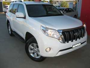 2015 Toyota Landcruiser Prado KDJ150R MY14 GXL (4x4) White 5 Speed Sequential Auto Wagon