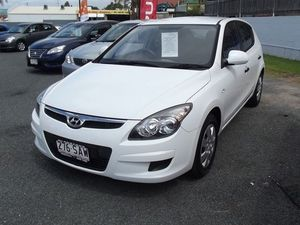 2010 Hyundai i30 FD MY10 SX White 4 Speed Automatic Hatchback