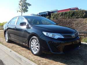 2012 Toyota Camry ASV50R Altise Black 6 Speed Auto Seq Sportshift Sedan