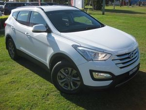 2014 Hyundai Santa Fe DM Active CRDi (4x4) White 6 Speed Automatic Wagon