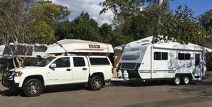 2004 Majestic 19ft 6 Van,   2010 Holden Colarado 3.0l, 143k,   Quintrex Fishnipper3.5 with 15hp Alum trailer,   boat racks, many extras,   $58,500, call for further details