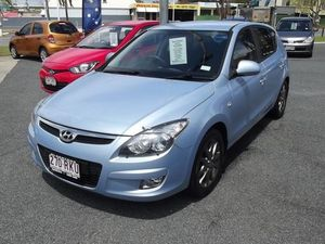 2011 Hyundai i30 FD MY11 SLX Blue 5 Speed Manual Hatchback