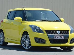 2012 Suzuki Swift FZ Sport Yellow 7 Speed Constant Variable Hatchback
